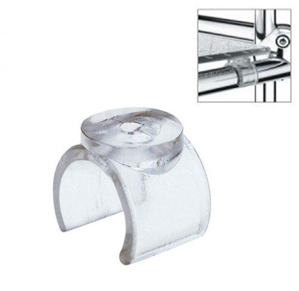 Держатель пластиковый для стеклянной полки JOK-040 купить недорого с доставкой